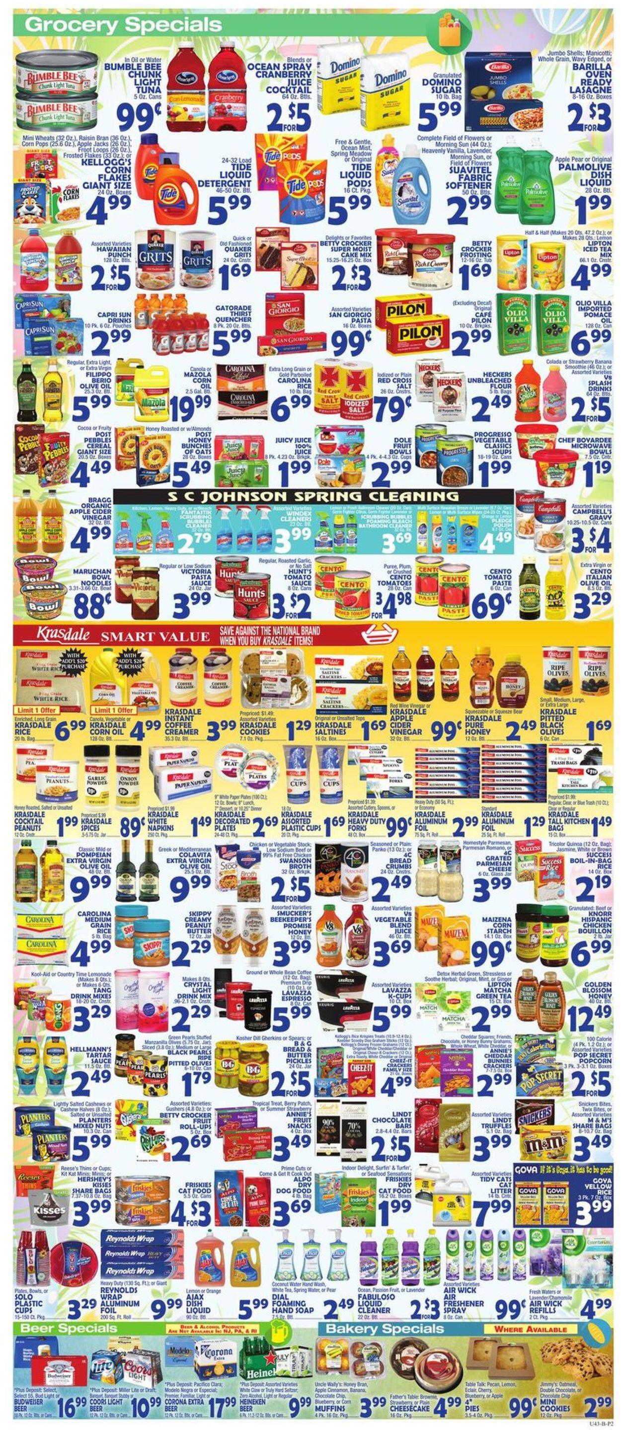 Catalogue Bravo Supermarkets from 03/27/2020
