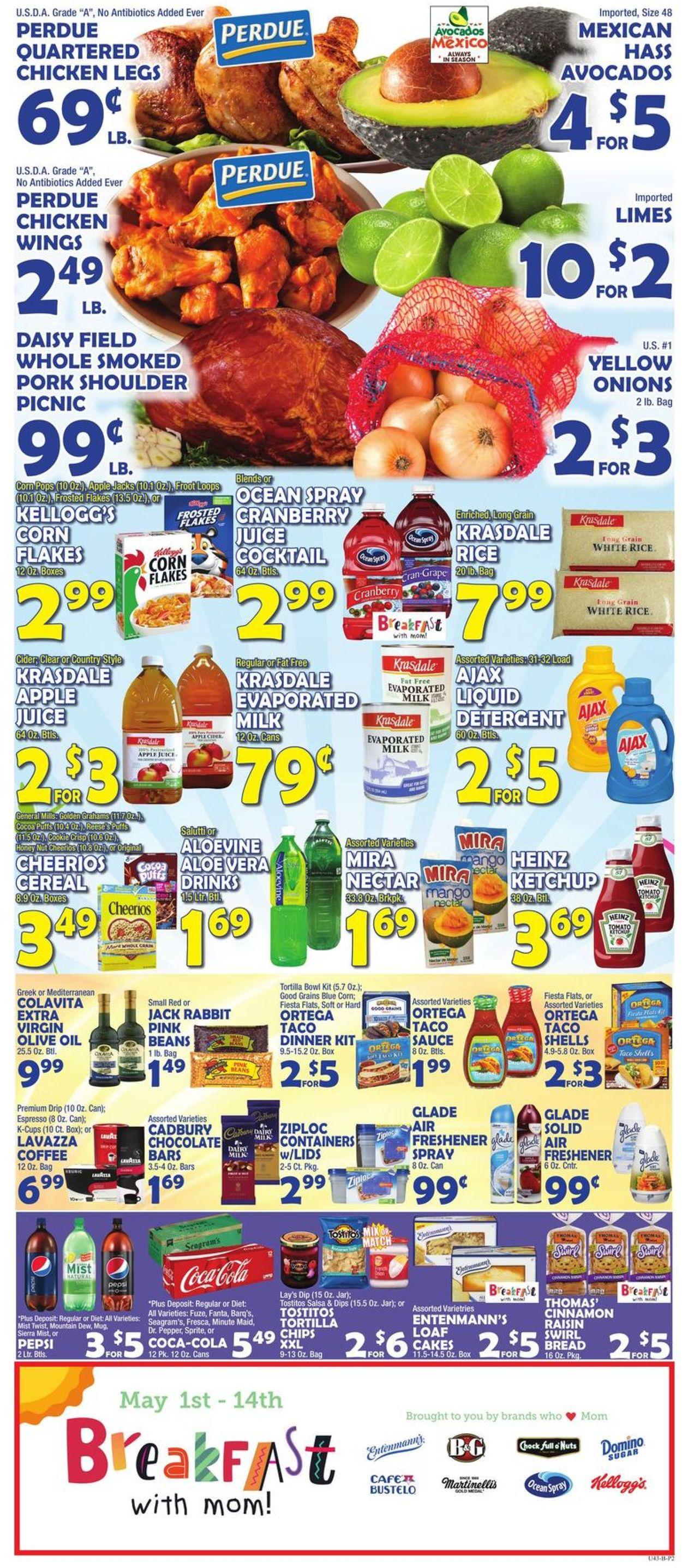 Catalogue Bravo Supermarkets from 05/01/2020