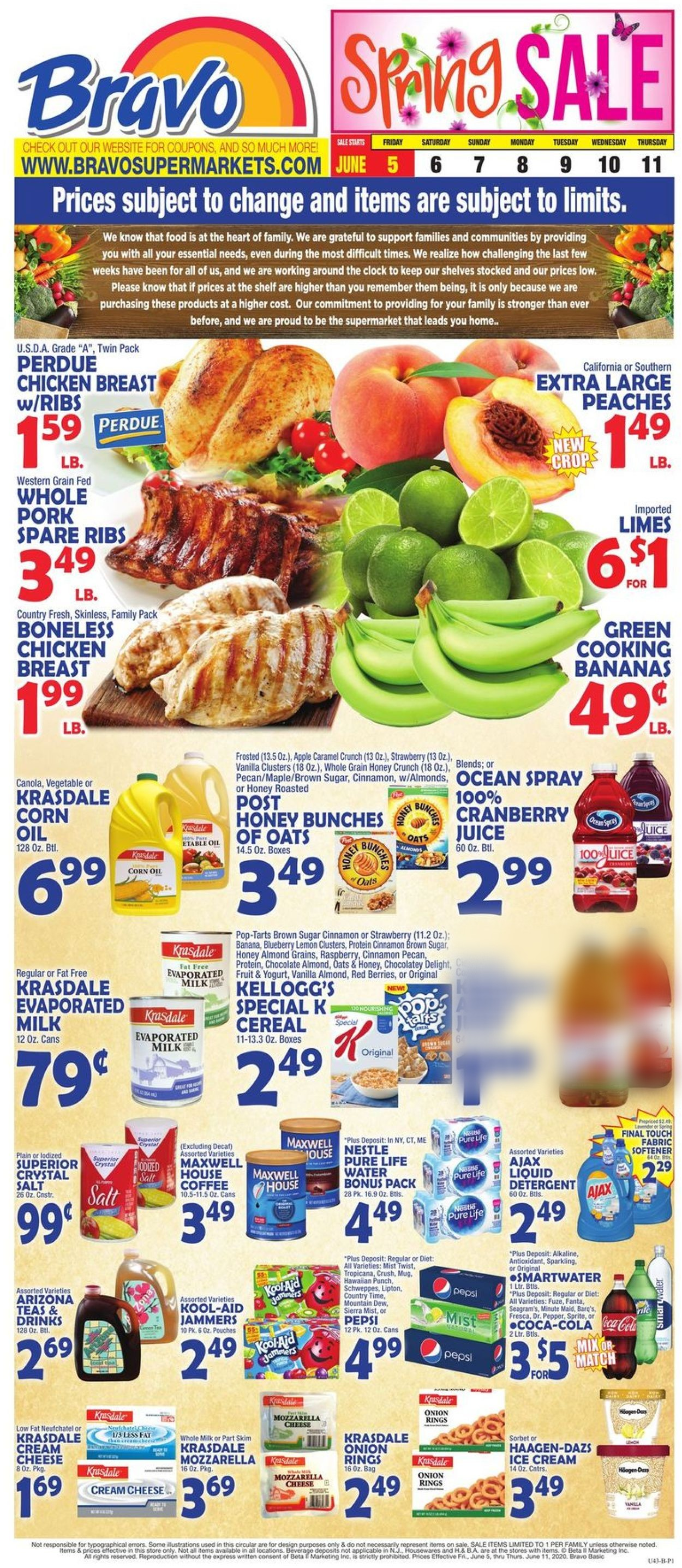 Catalogue Bravo Supermarkets from 06/05/2020