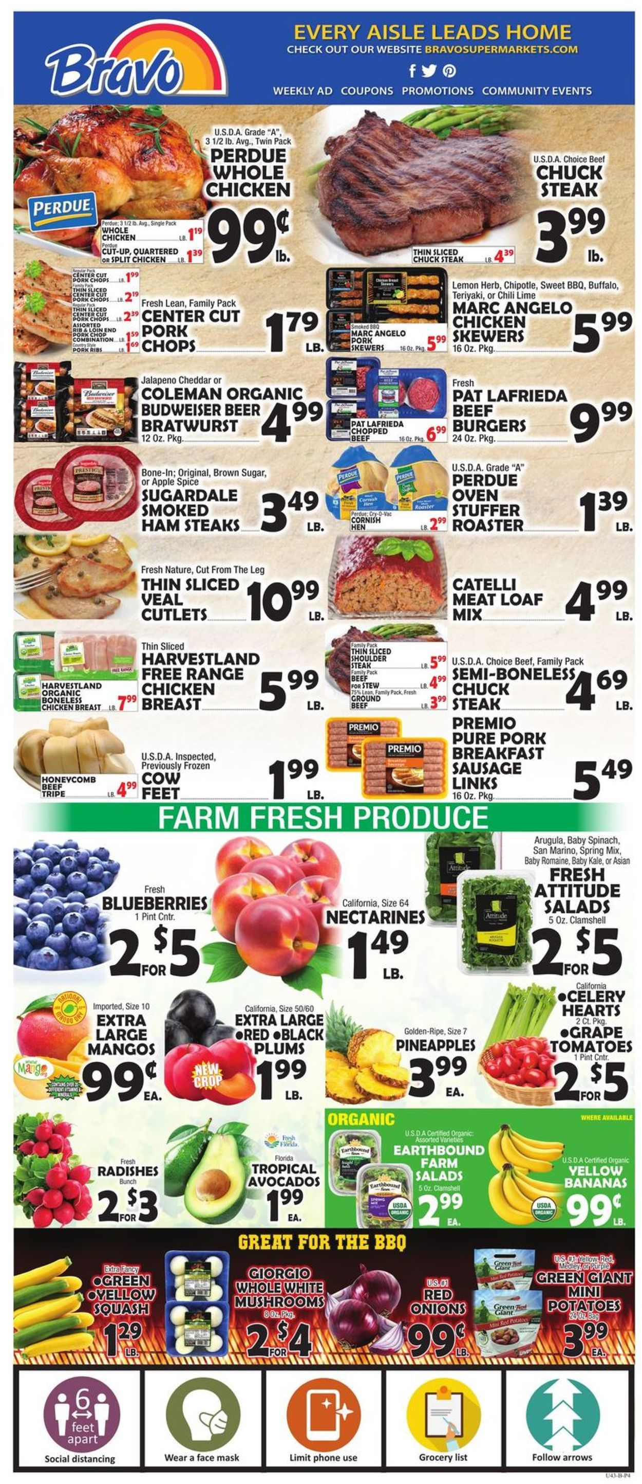 Catalogue Bravo Supermarkets from 07/17/2020