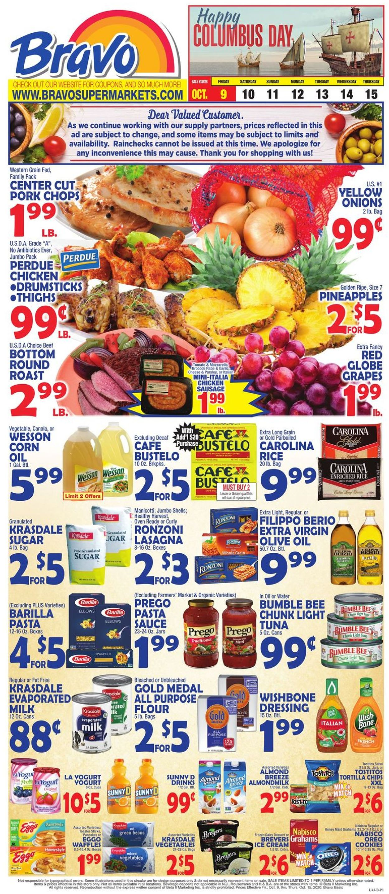 Catalogue Bravo Supermarkets from 10/09/2020