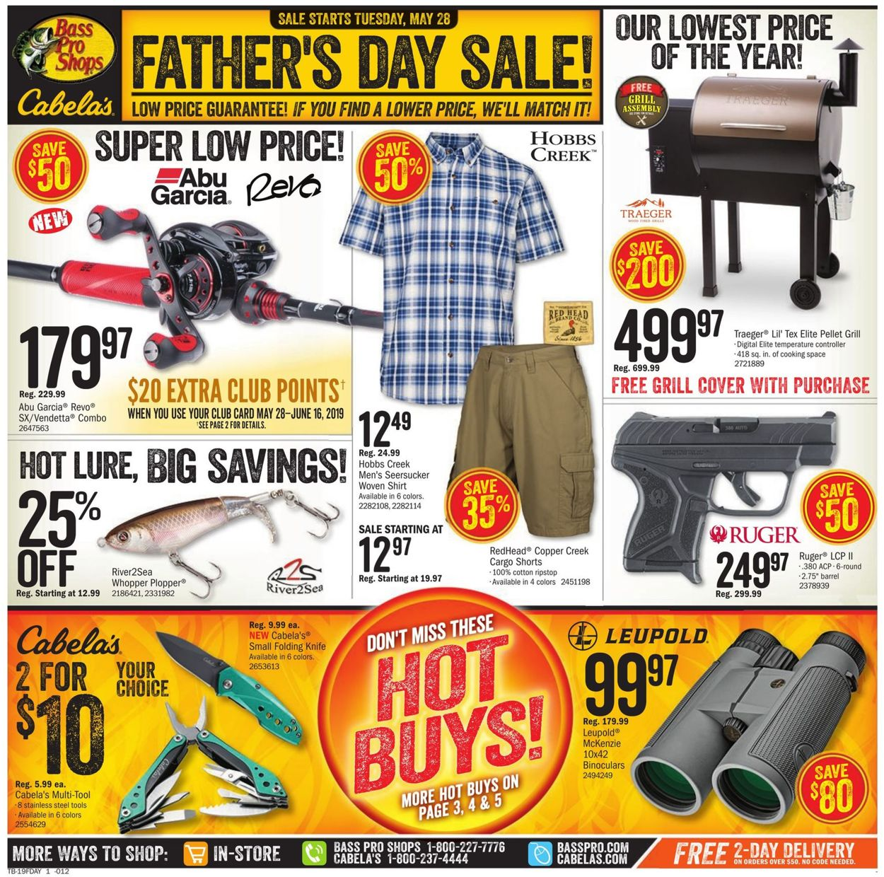 Catalogue Cabela's from 05/28/2019