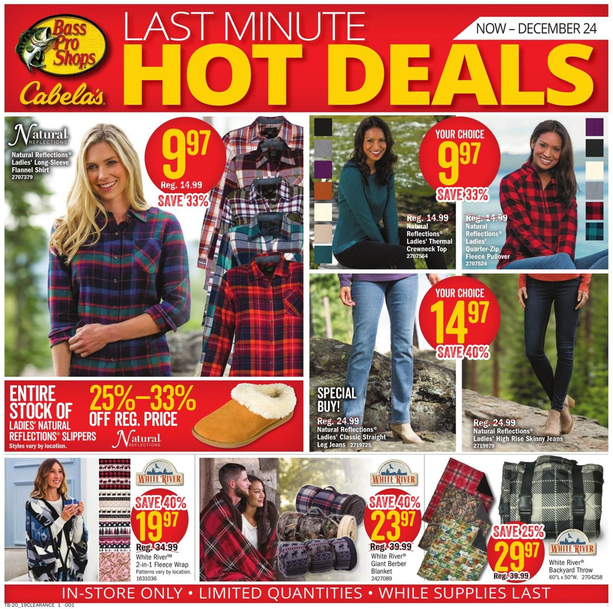 Catalogue Cabela's - Christmas Ad 2019 from 12/11/2019