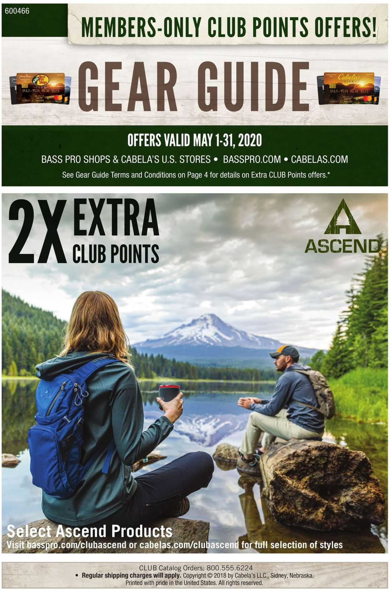 Catalogue Cabela's from 05/01/2020