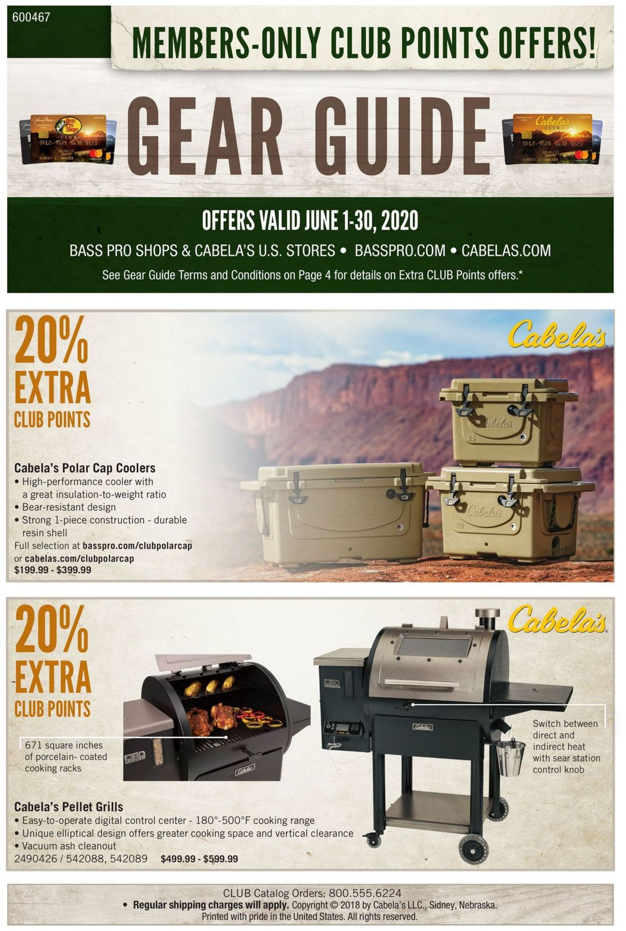 Catalogue Cabela's from 06/01/2020