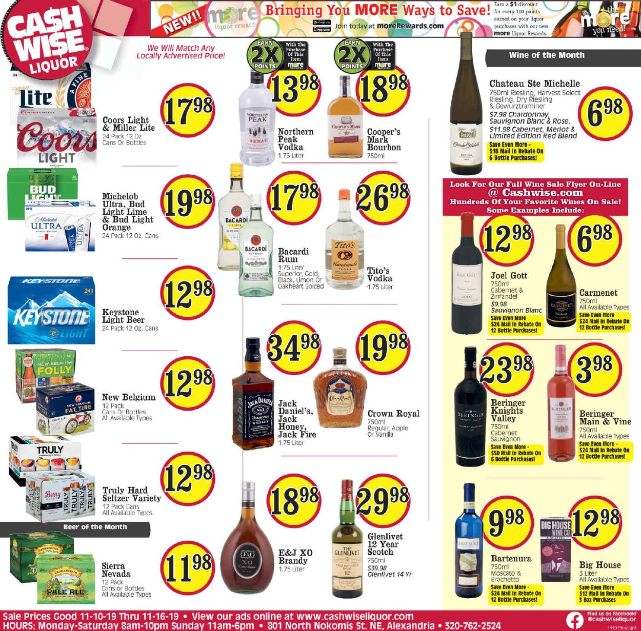 Catalogue Cash Wise from 11/10/2019
