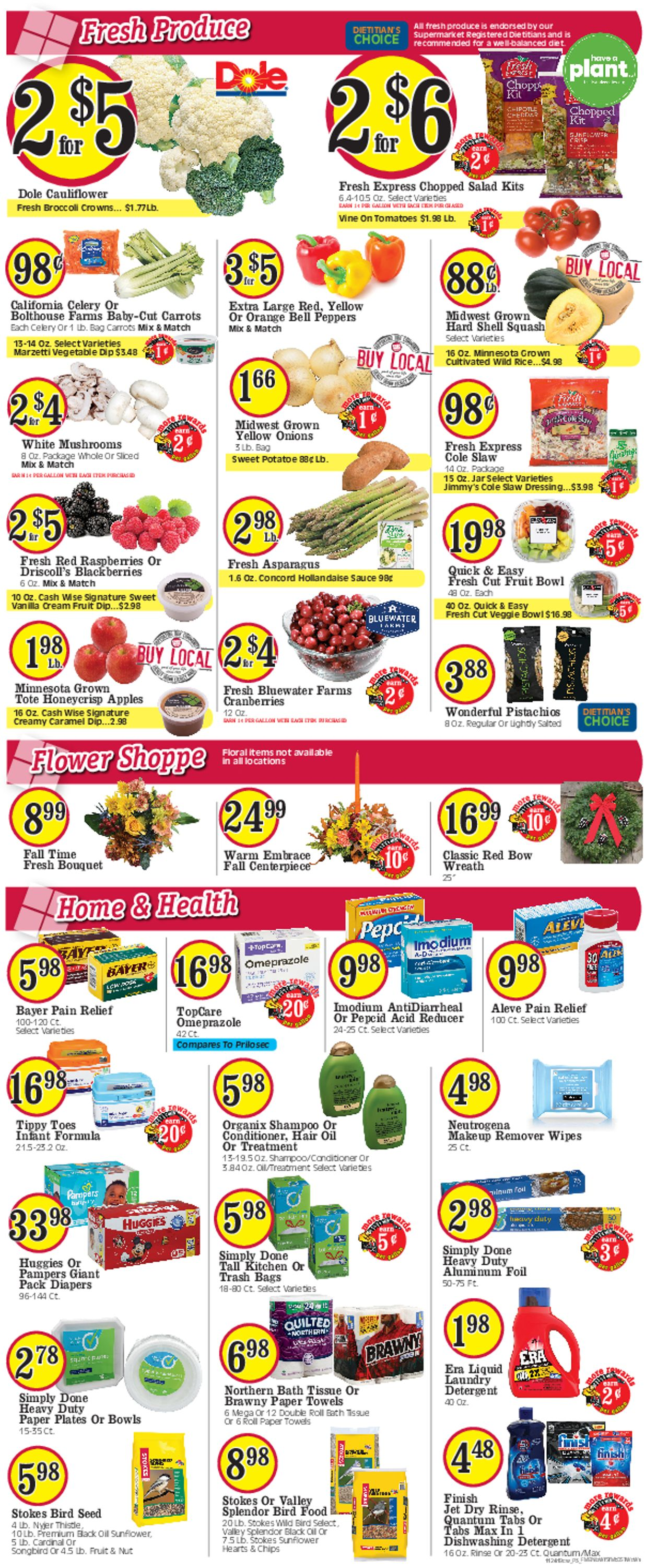 Catalogue Cash Wise - Black Friday Ad 2019 from 11/27/2019