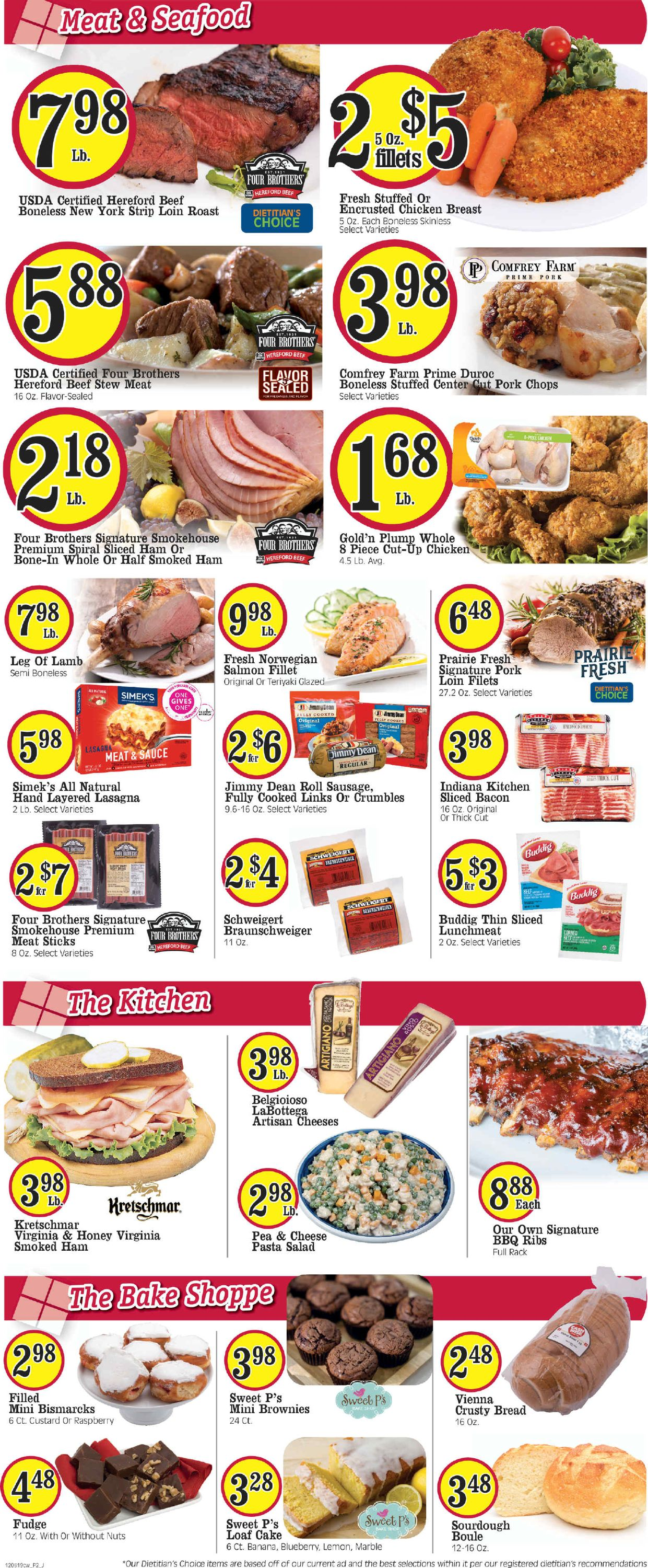 Catalogue Cash Wise - Holidays Ad 2019 from 12/08/2019