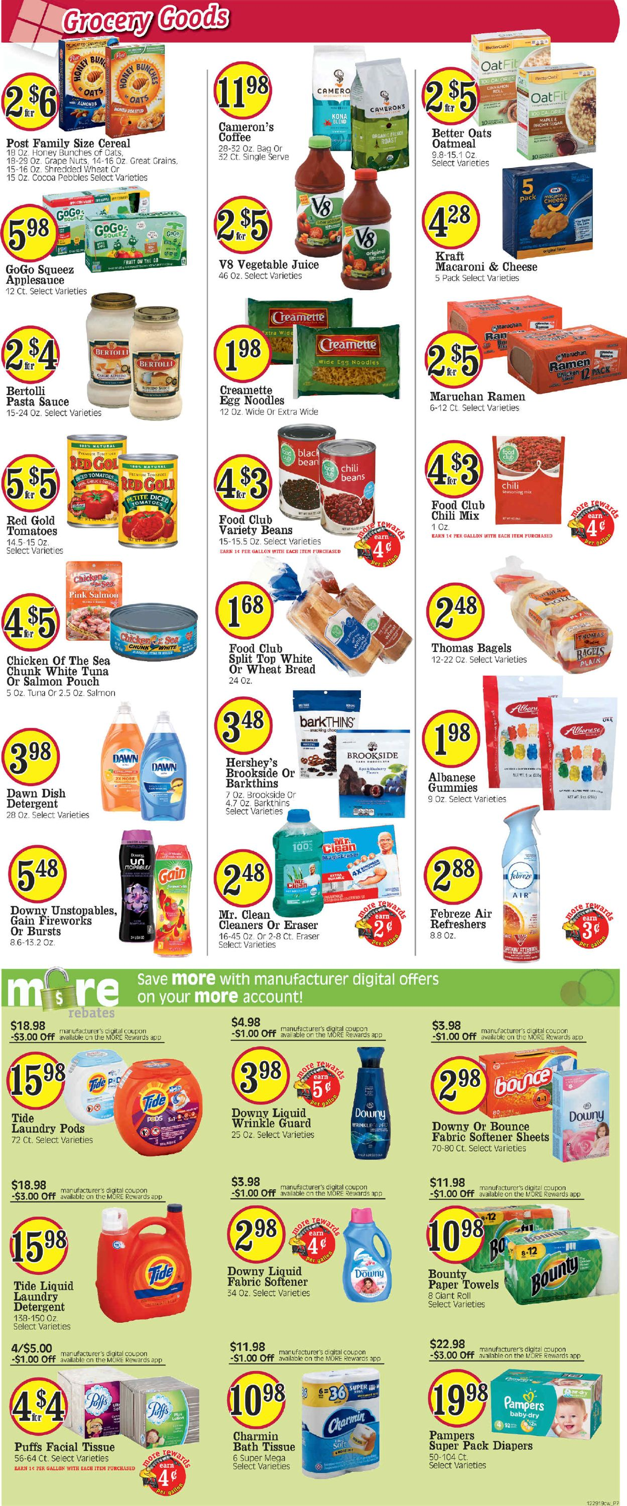 Catalogue Cash Wise from 01/01/2020