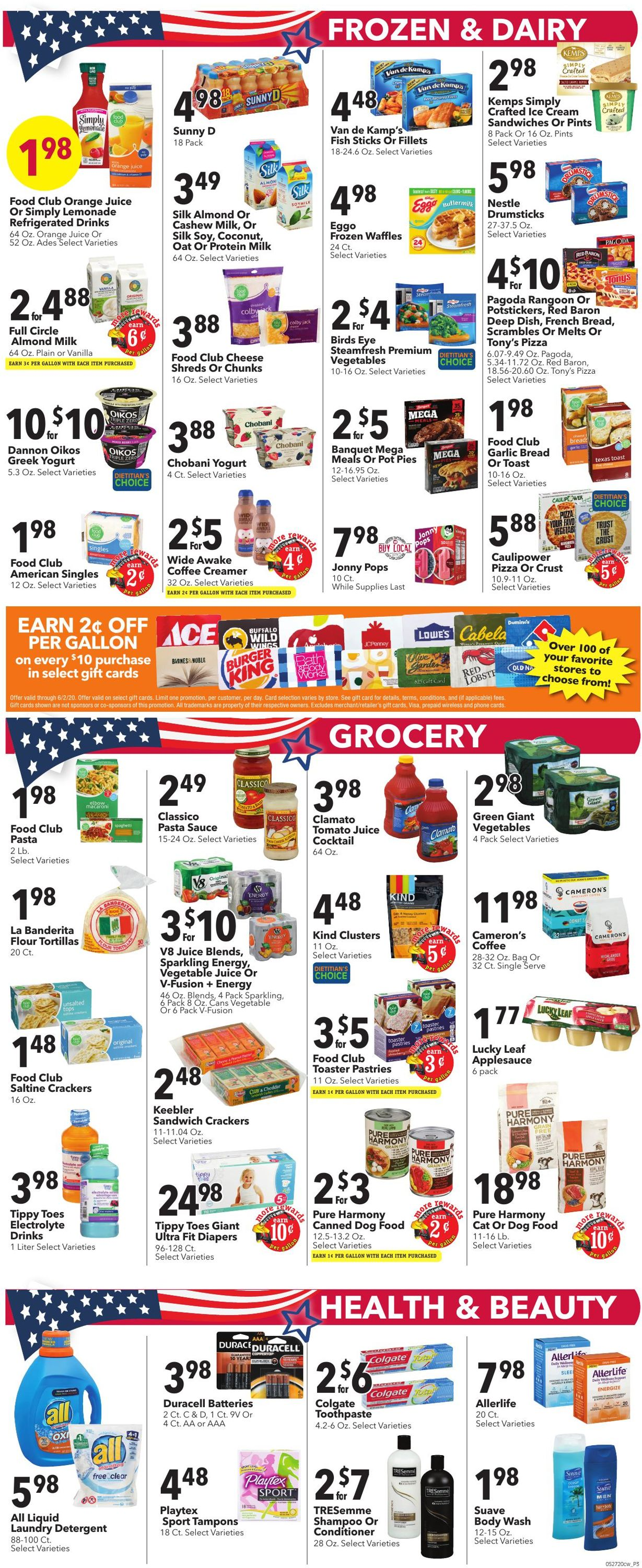 Catalogue Cash Wise from 05/27/2020