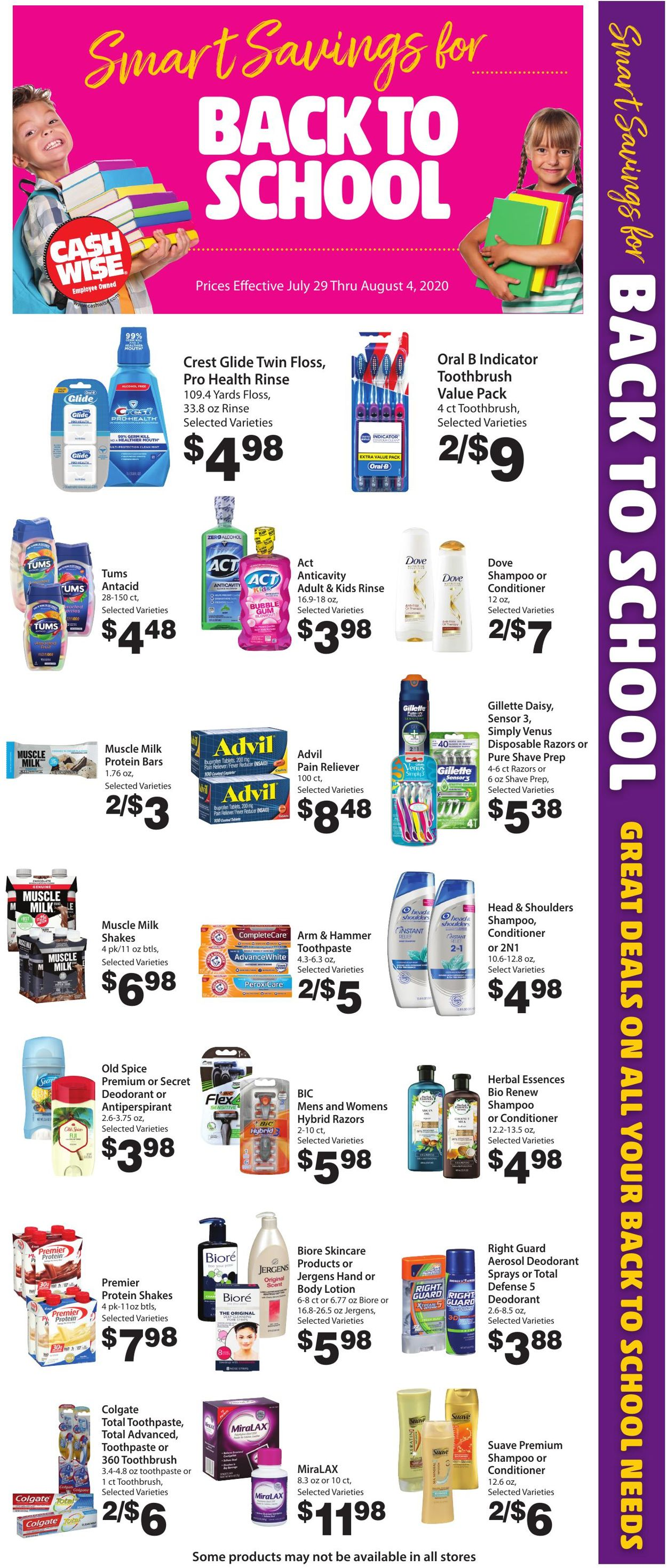 Catalogue Cash Wise from 07/29/2020