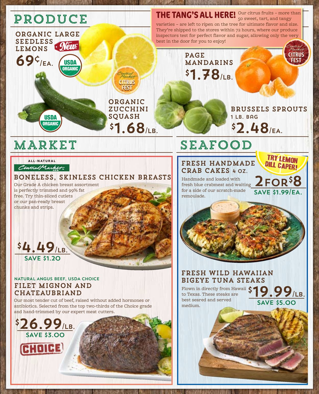 Catalogue Central Market from 01/15/2020