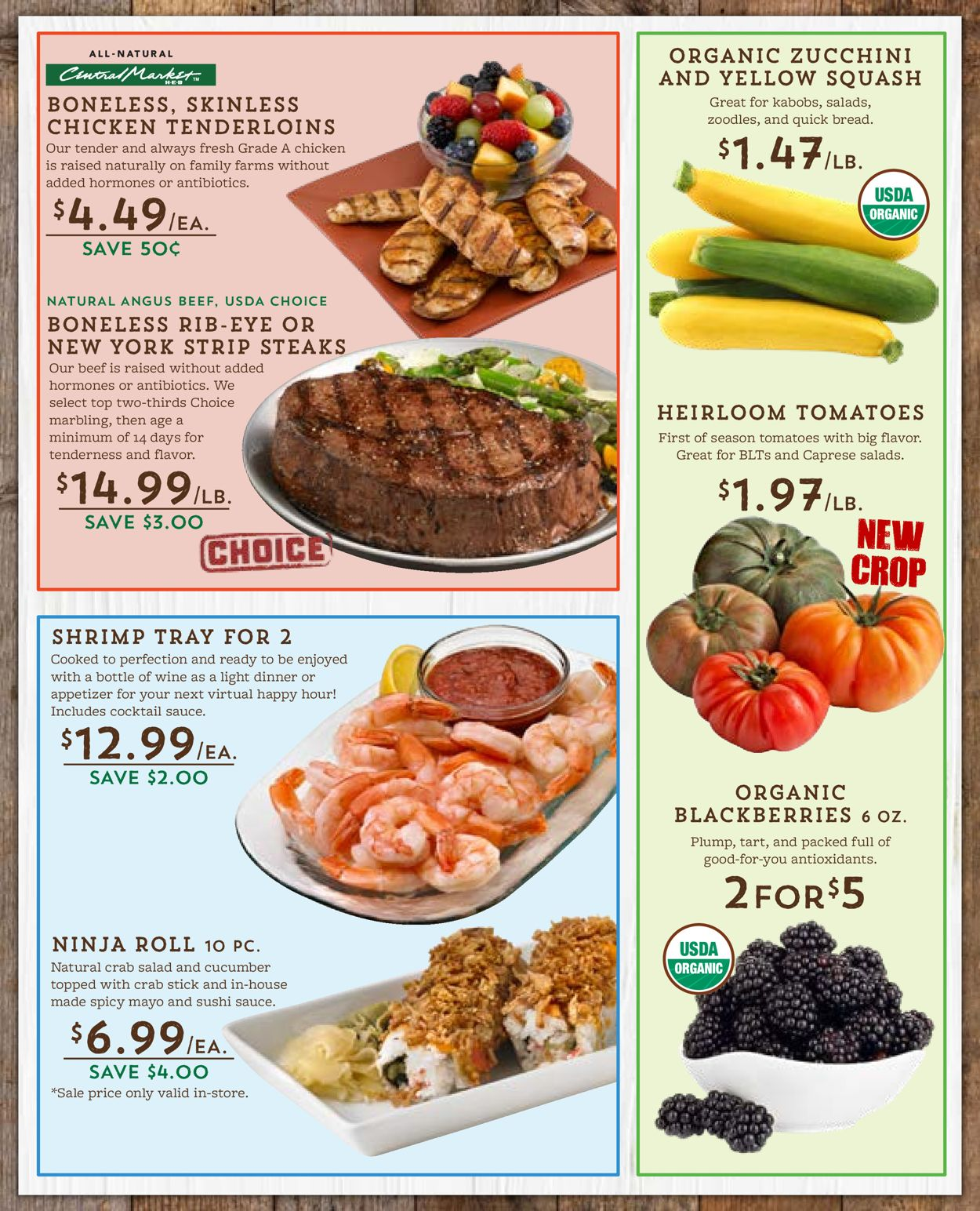 Catalogue Central Market from 04/29/2020