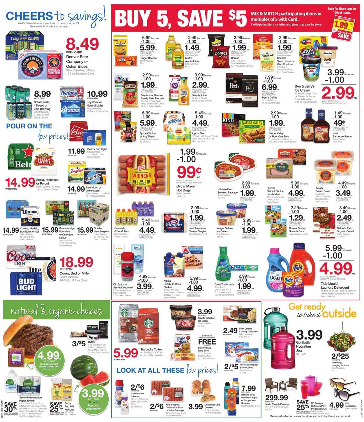 Catalogue City Market from 05/15/2019