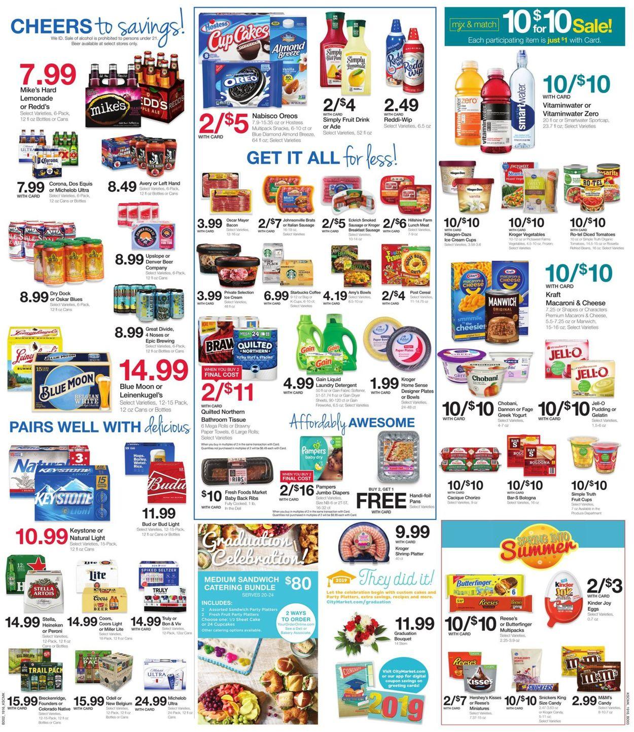 Catalogue City Market from 05/22/2019