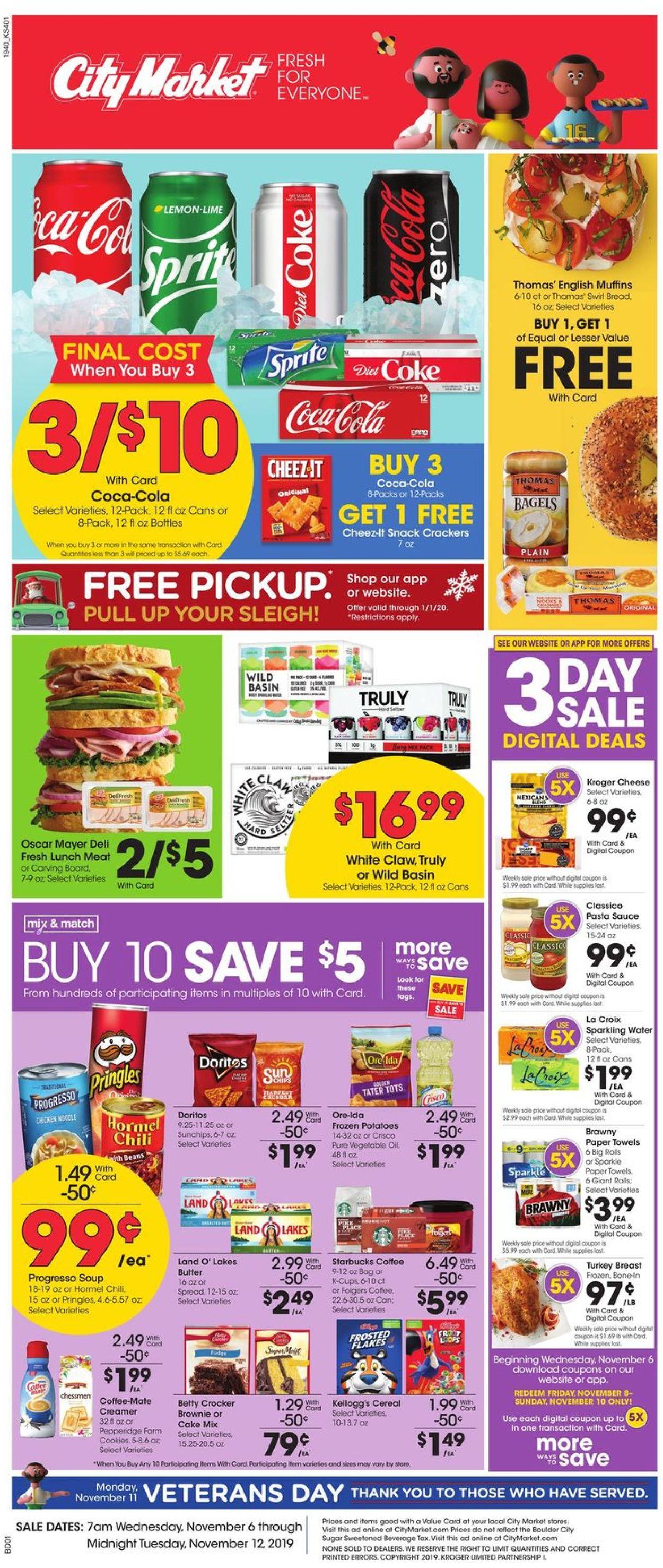 Catalogue City Market from 11/06/2019