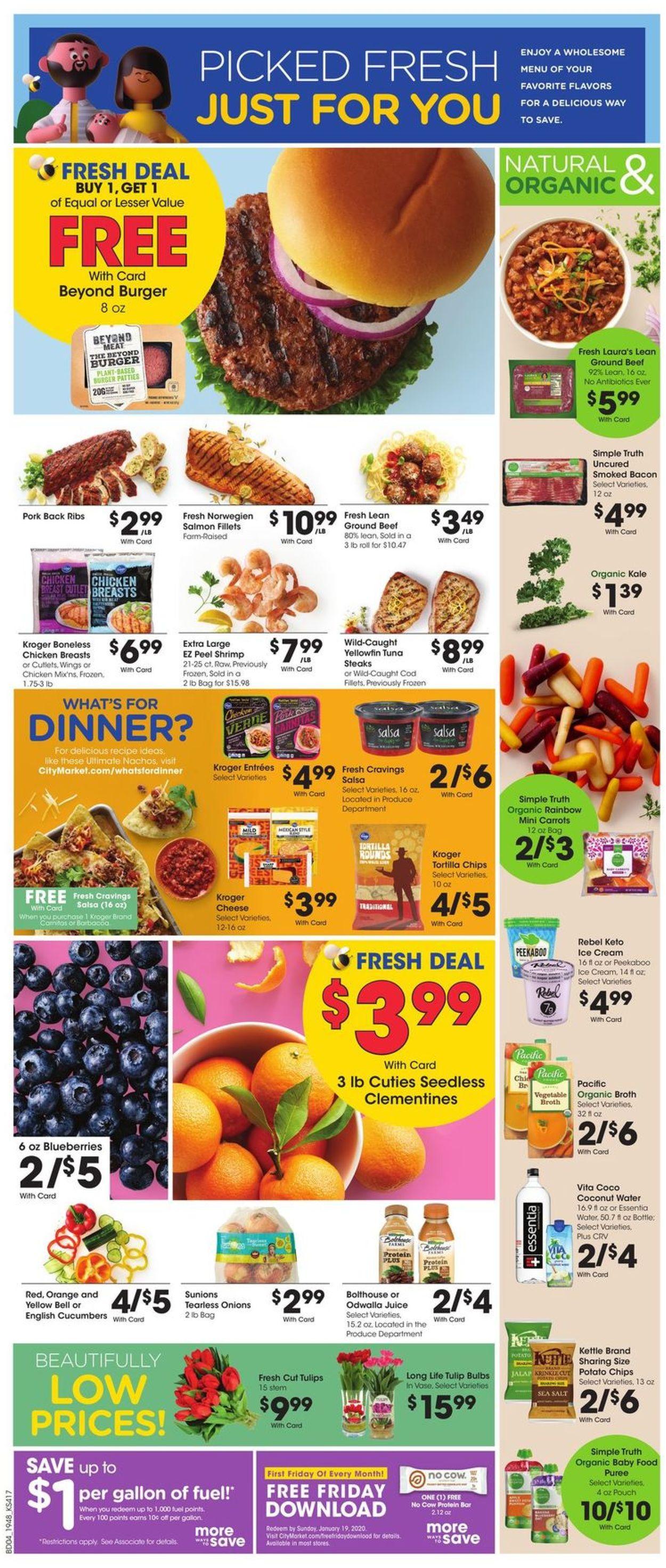 Catalogue City Market from 01/02/2020