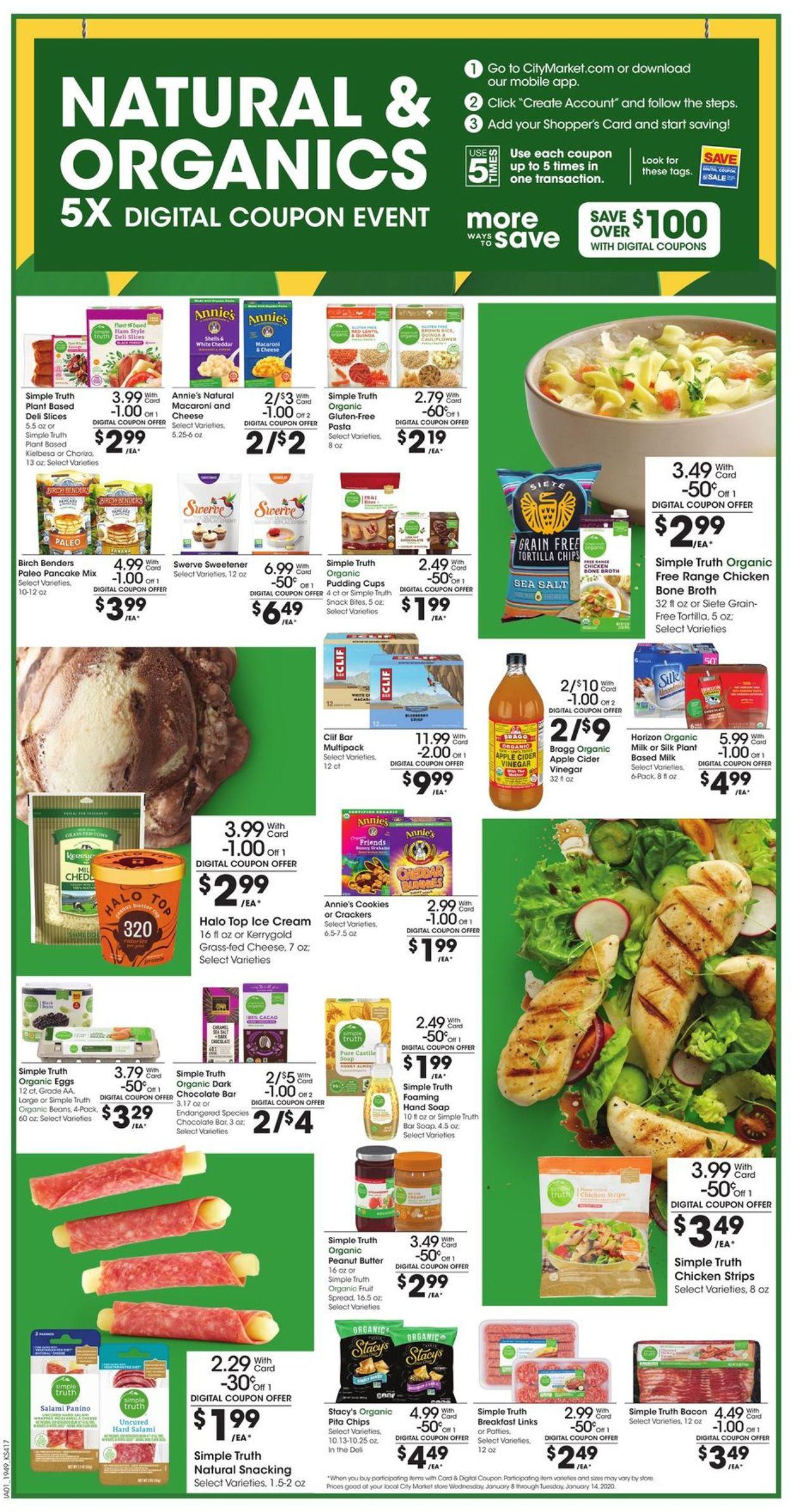 Catalogue City Market from 01/08/2020
