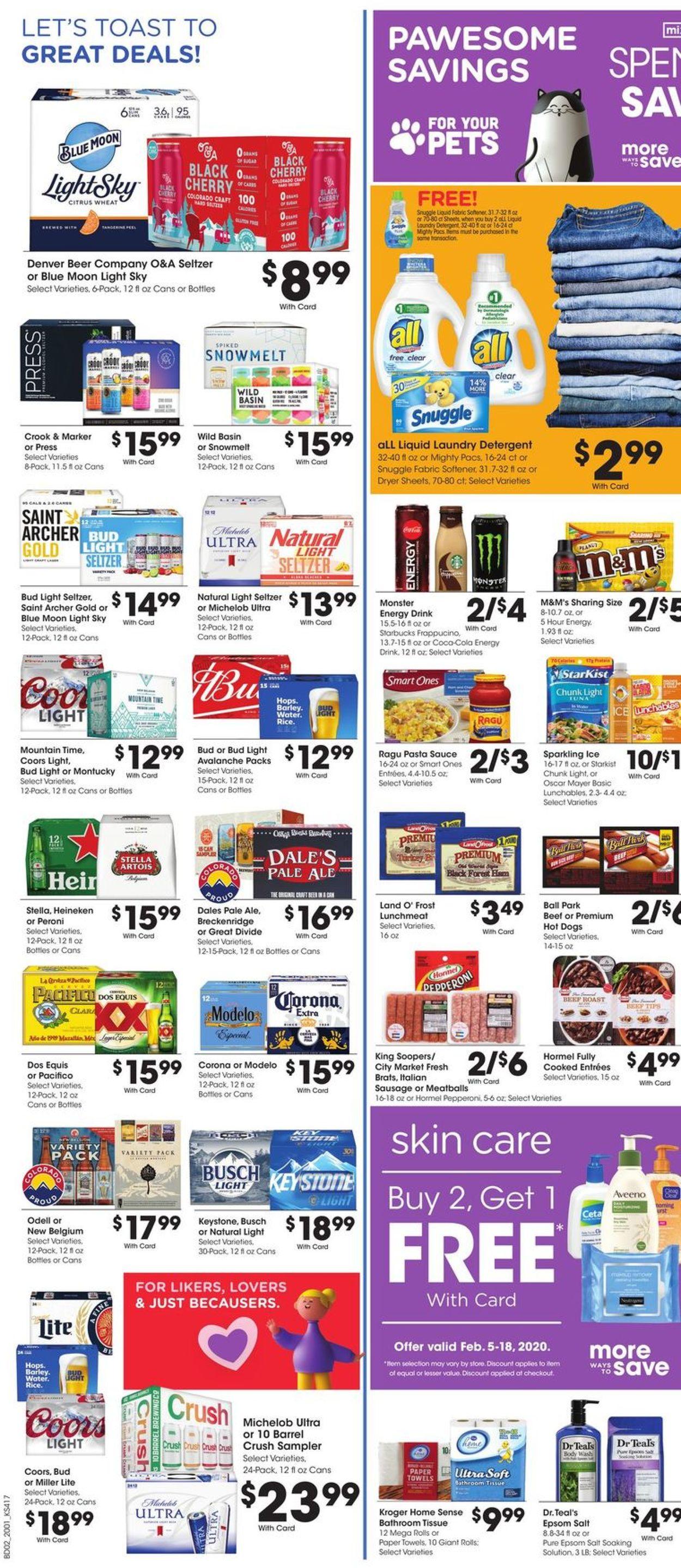 Catalogue City Market from 02/05/2020