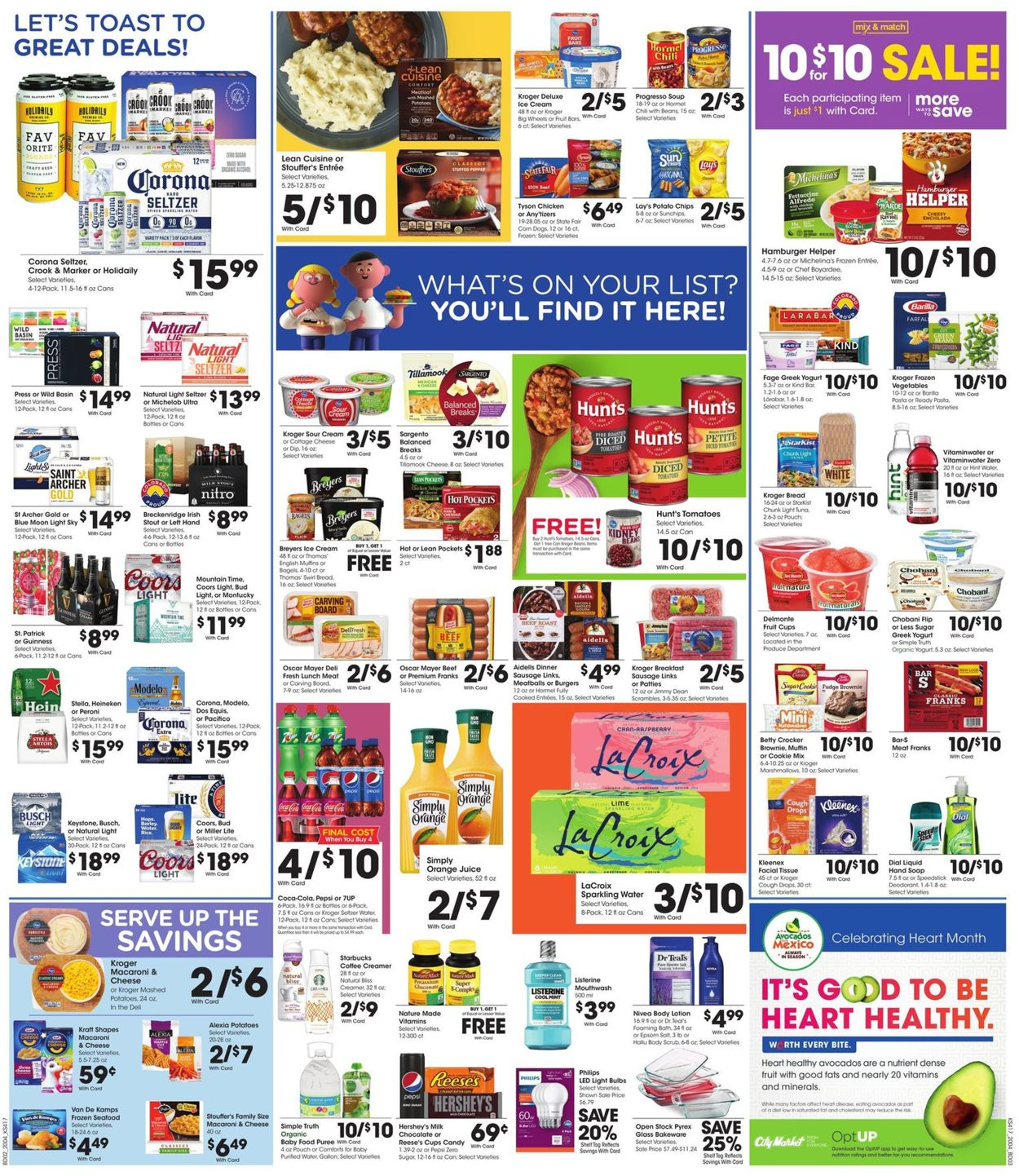 Catalogue City Market from 02/26/2020