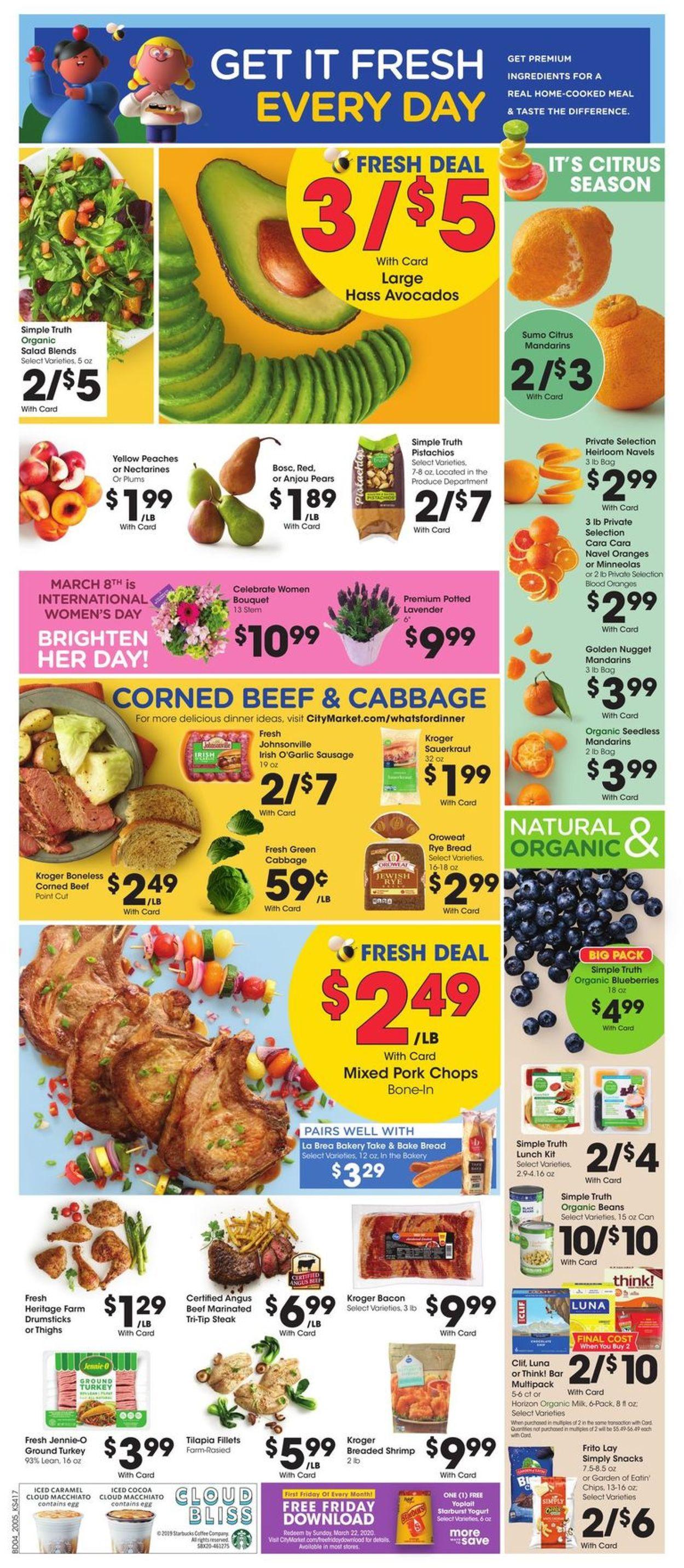 Catalogue City Market from 03/04/2020