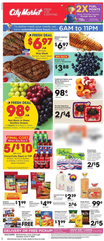 Catalogue City Market from 06/03/2020