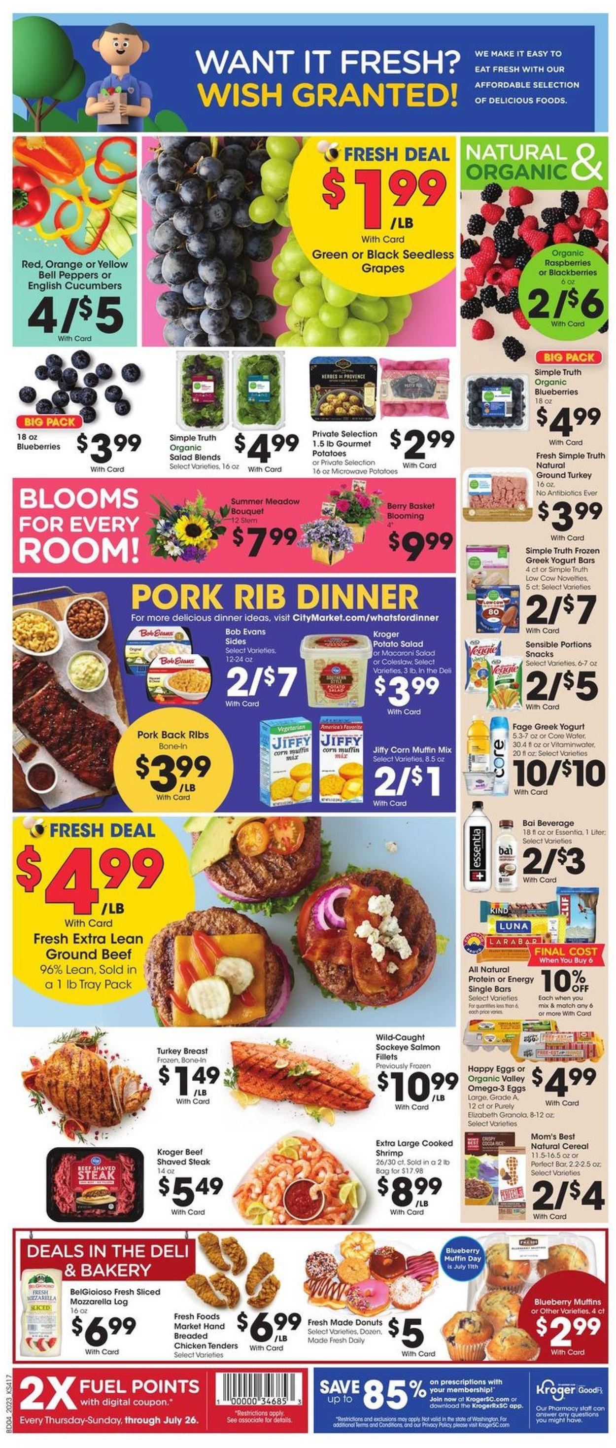 Catalogue City Market from 07/08/2020