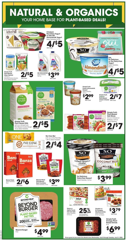 Catalogue City Market from 07/15/2020