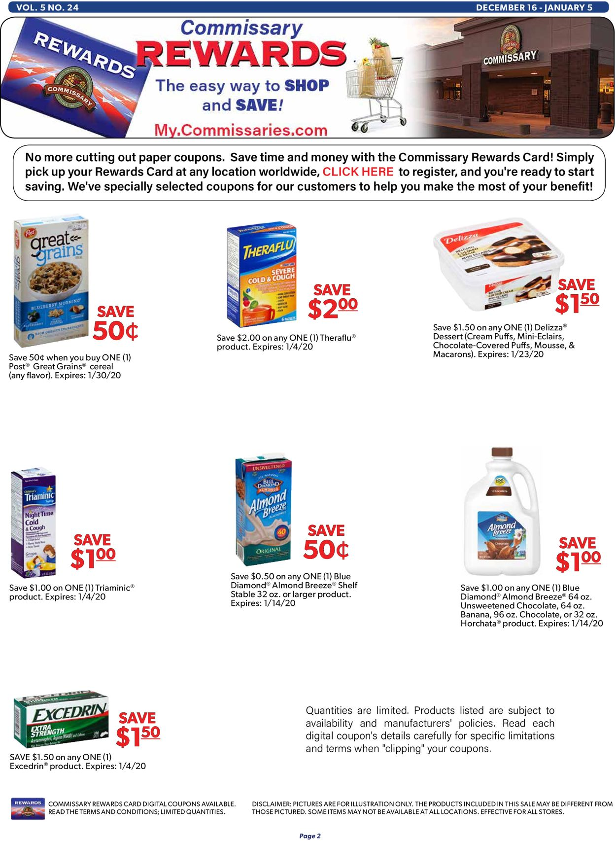 Catalogue Commissary - Holidays Ad 2019 from 12/16/2019