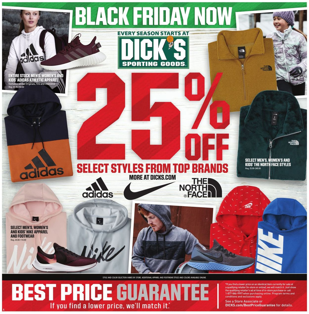Catalogue Dick's - Black Friday Ad Ad 2019 from 11/24/2019
