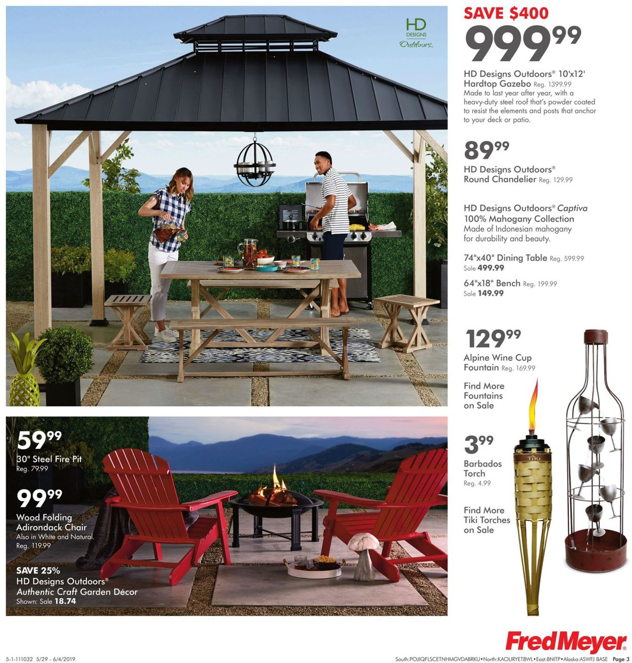 Fred Meyer Current weekly ad 05/29 - 06/04/2019 [3] - weekly