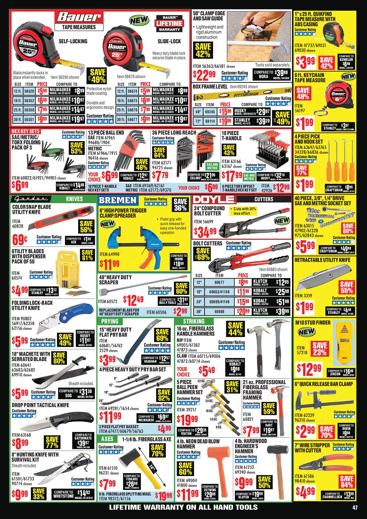 Catalogue Harbor Freight from 07/01/2020