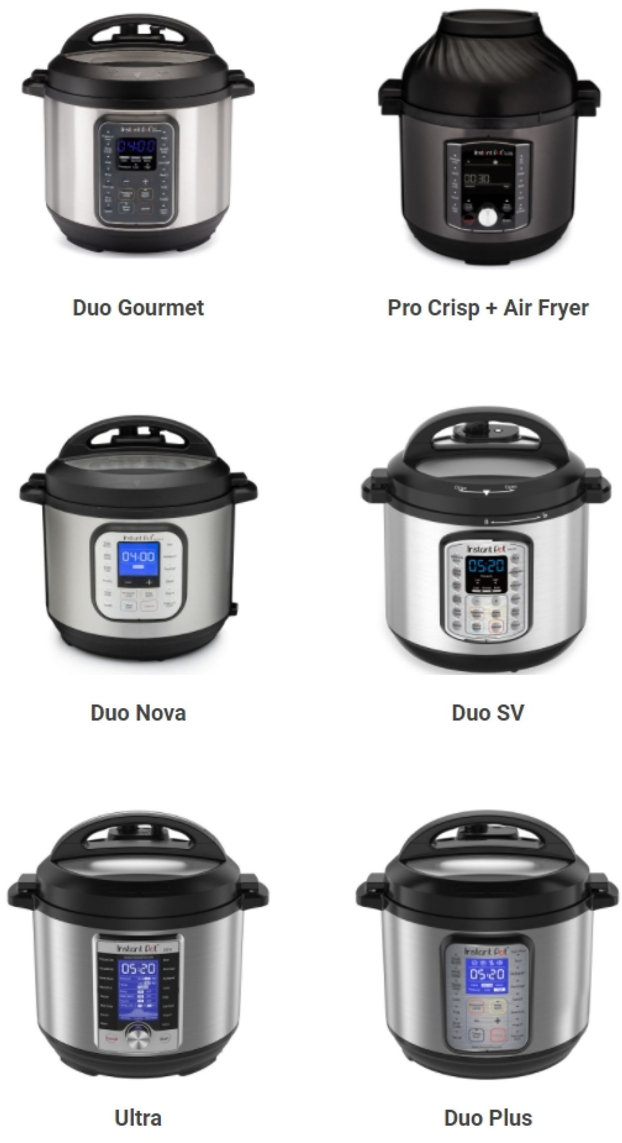 Catalogue Instant Pot Black Friday 2020 from 11/14/2020