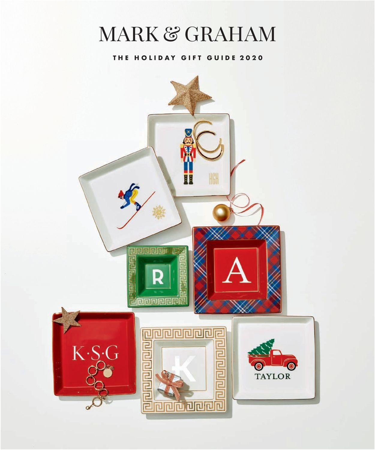 Catalogue Mark and Graham Holiday ad 2020 from 11/16/2020