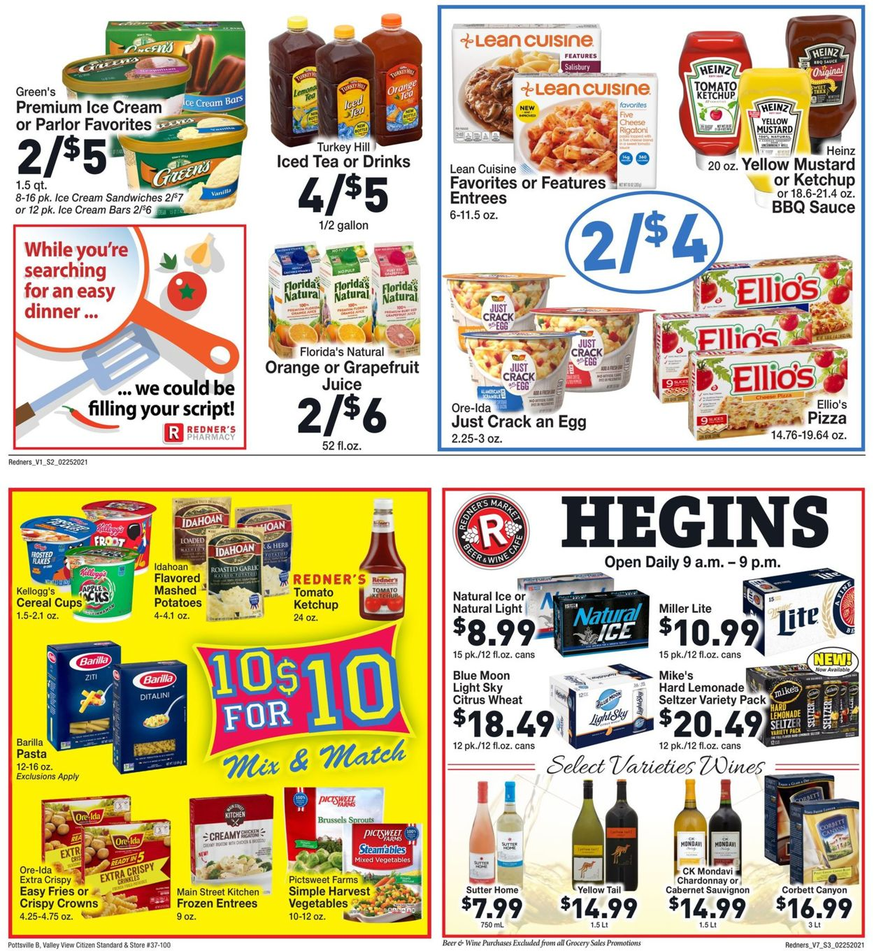 Catalogue Redner's Warehouse Market from 02/25/2021