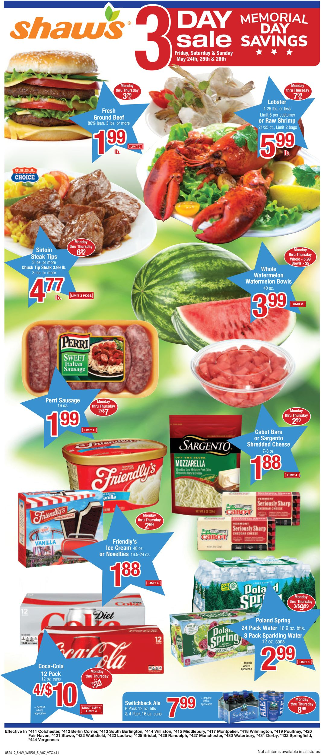 Shaw's Current weekly ad 05/24 - 05/30/2019 - weekly-ad-24 com