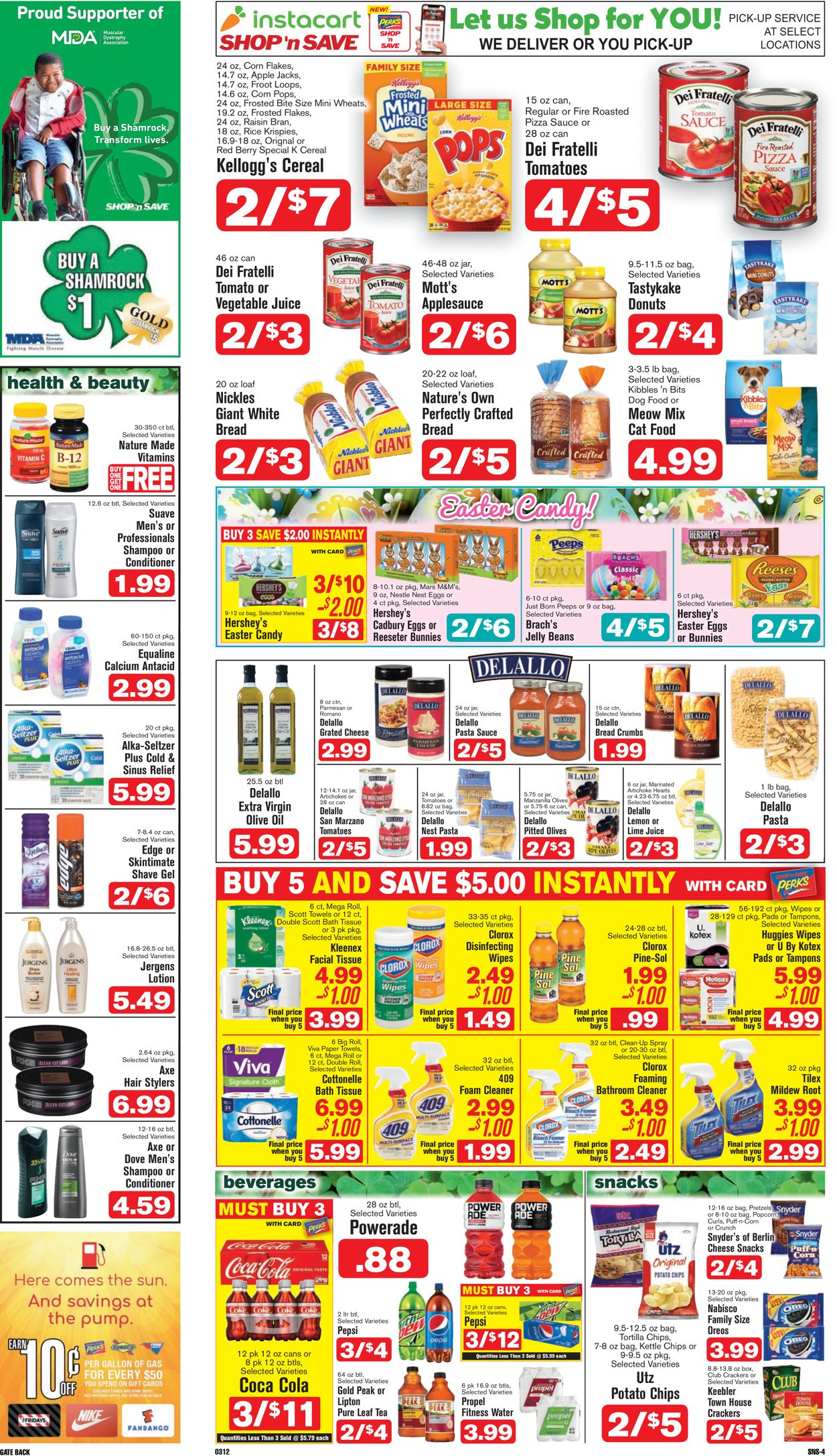 Catalogue Shop 'n Save (Pittsburgh) from 03/12/2020