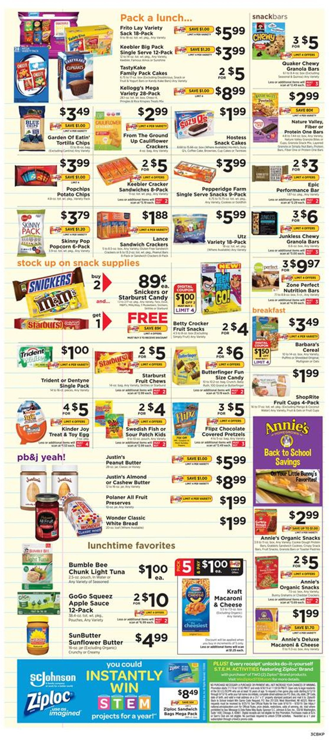 ShopRite Current weekly ad 08/18 - 08/24/2019 [3] - weekly-ad-24.com