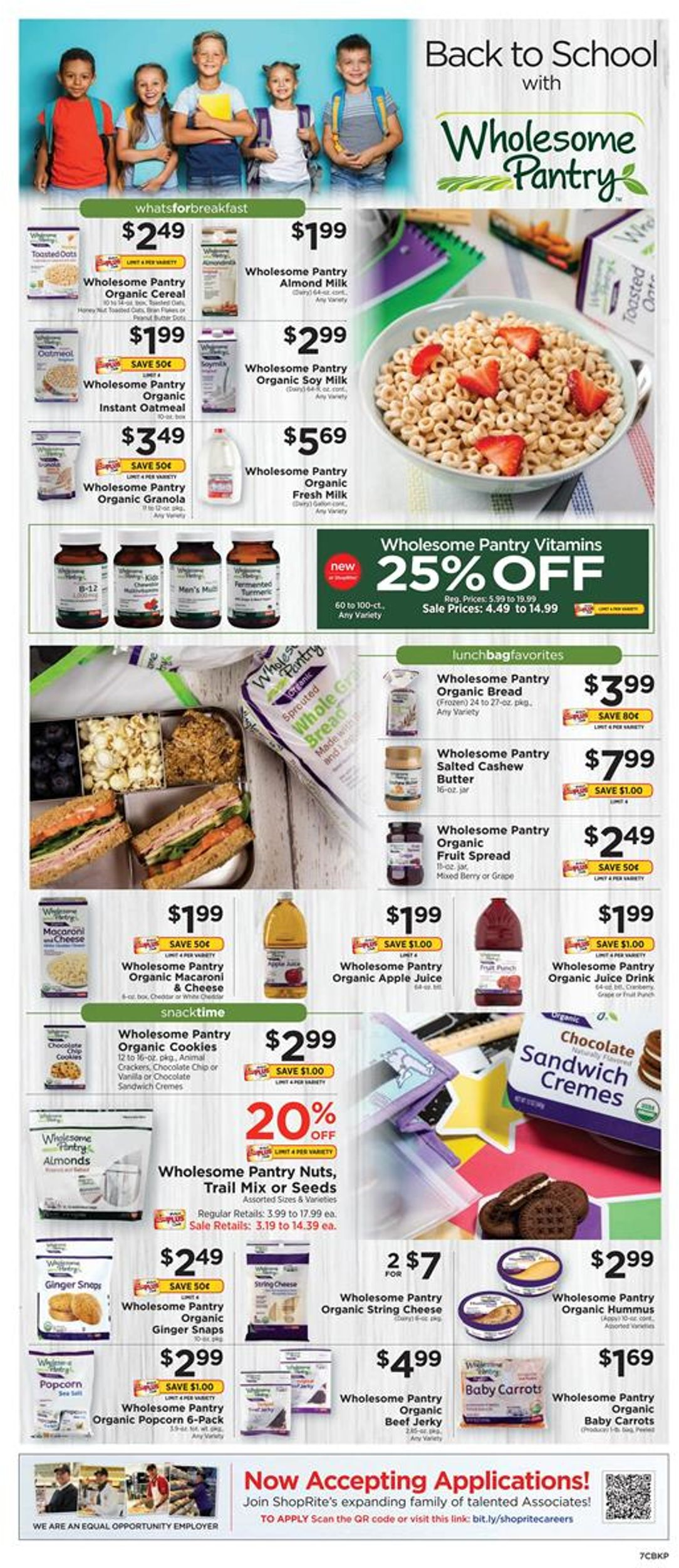 ShopRite Current weekly ad 08/18 - 08/24/2019 [7] - weekly-ad-24.com