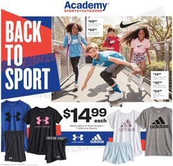 Catalogue Academy Sports from 07/13/2020