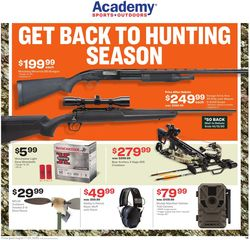 Catalogue Academy Sports from 08/17/2020