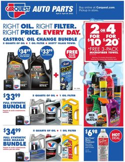Catalogue Advance Auto Parts from 04/02/2020