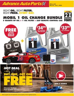 Catalogue Advance Auto Parts from 05/28/2020