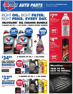Catalogue Advance Auto Parts from 07/02/2020