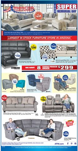 Catalogue American Furniture Warehouse from 05/25/2020