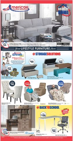 Catalogue American Furniture Warehouse from 08/10/2020