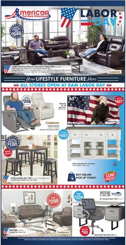 Catalogue American Furniture Warehouse from 09/07/2020