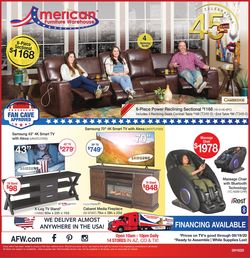 Catalogue American Furniture Warehouse from 09/16/2020
