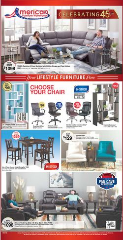 Catalogue American Furniture Warehouse from 09/27/2020
