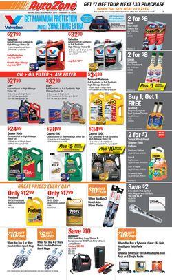 Catalogue Autozone from 12/31/2019